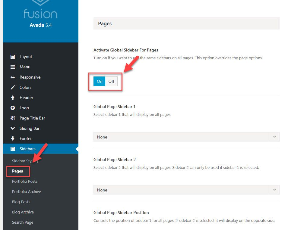 wordpress how to set where to put posts