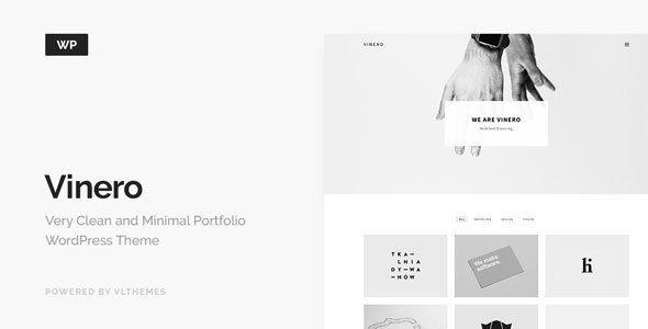 Grab Free Clean And Minimal Premium Portfolio Wordpress Theme For