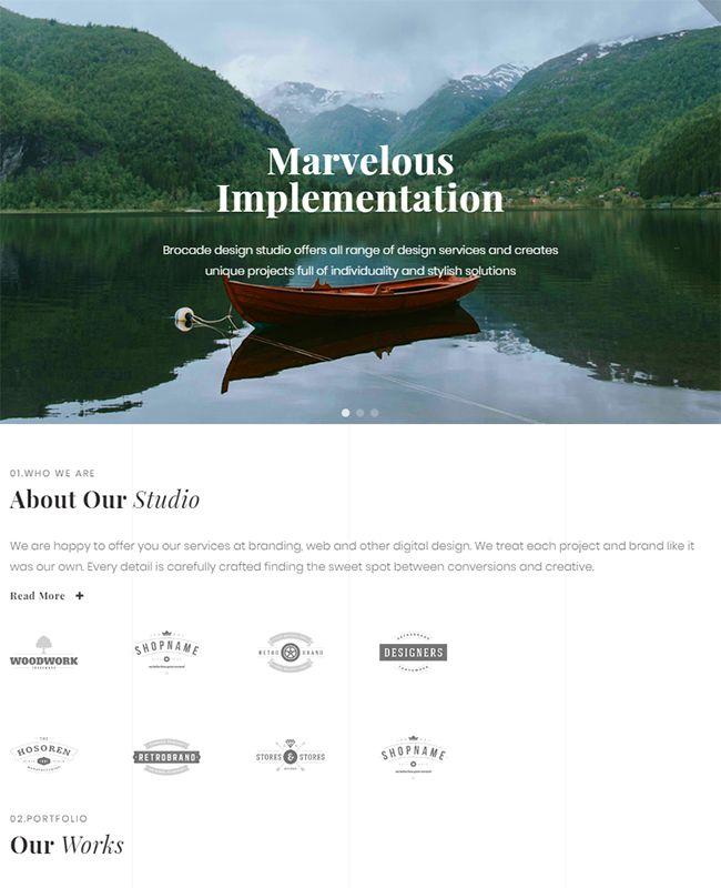 Imagix - Lite Portfolio Pro Elementor Template