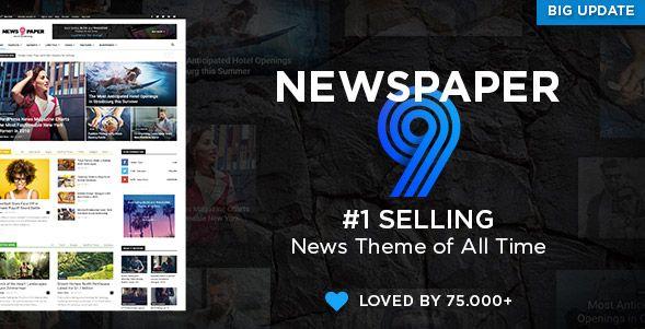 WordPress best-selling theme - Newspaper