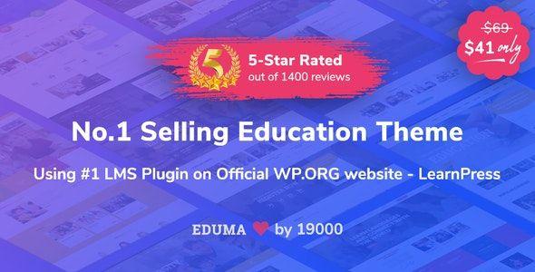 WordPress Educational Theme Eduma