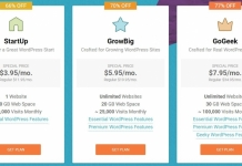 SG Plans 218x150 - SiteGround Hosting Sale - Up To 77% OFF for GoGeek