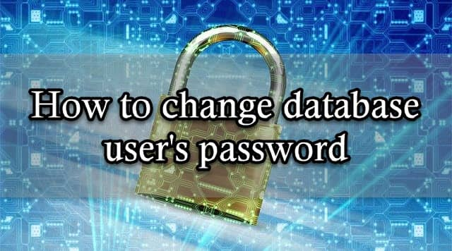 Change Database User's Password in Buehost - cPanel