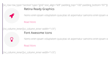WordPress Visual Composer ショートコード