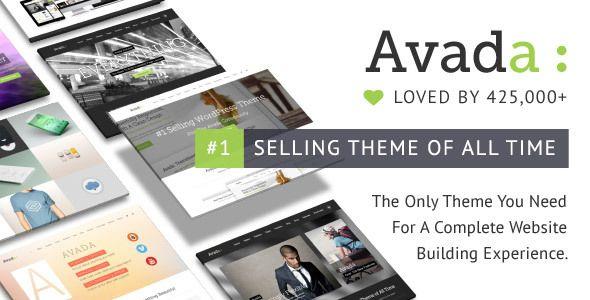 Avada – 베스트셀링 다목적 워드프레스 테마