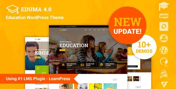 Eduma  - ベストセラーLMS&教育 WordPress テーマ