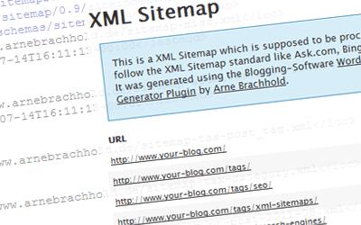 워드프레스 사이트맵 플러그인 Google XML Sitemaps