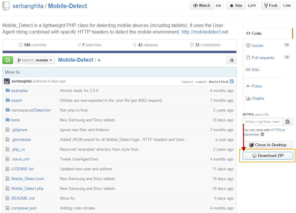 워드프레스 – 모바일 기기에서 다른 html  페이지로 Redirection시키는 방법