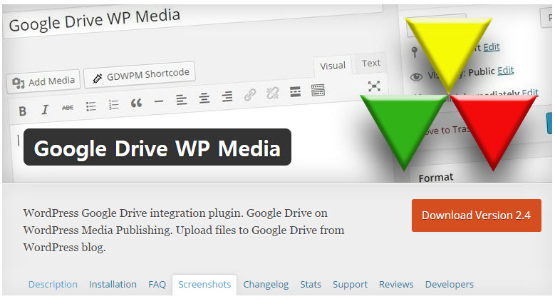 Google Drive WP Media