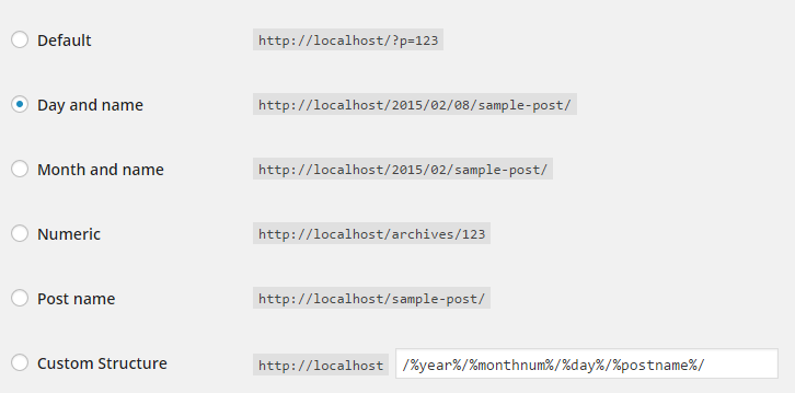 SEO에 유리한 워드프레스의 URL 구조