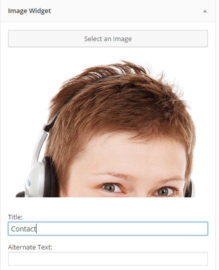 이미지 위젯을 사용하여 이미지 추가하기