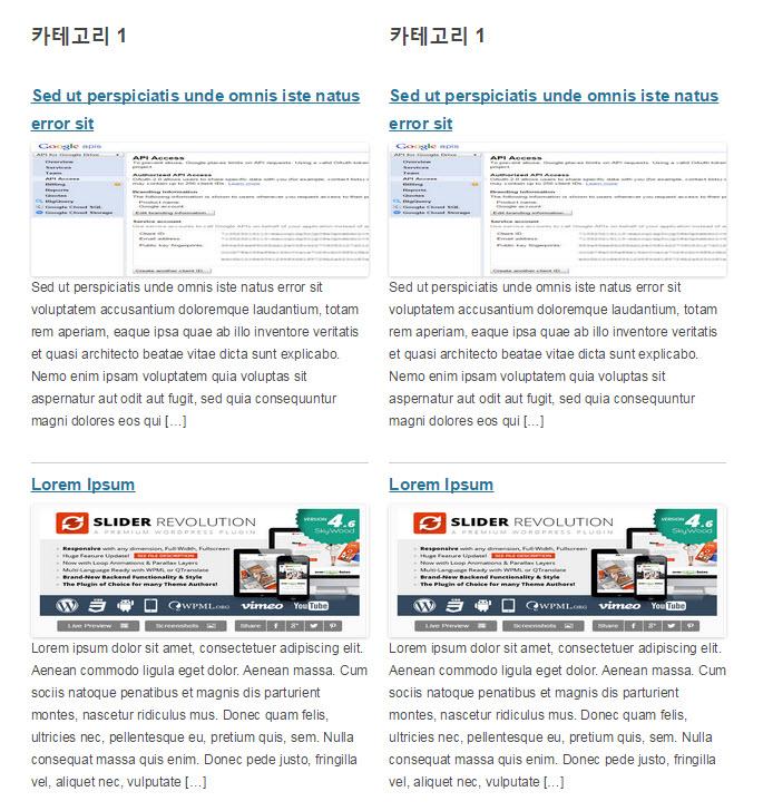 WordPress フロントページにカテゴリ文を表示する3