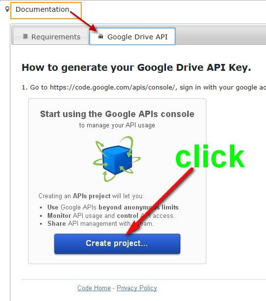 How to add Google API key