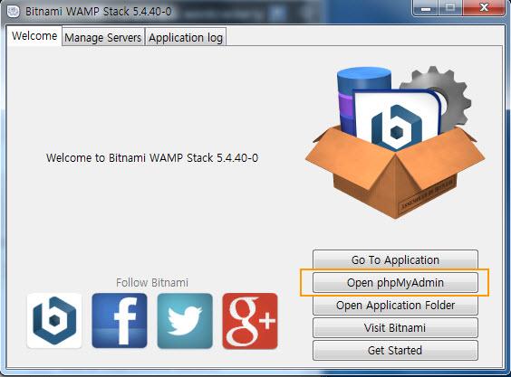 Open phpMyAdmin