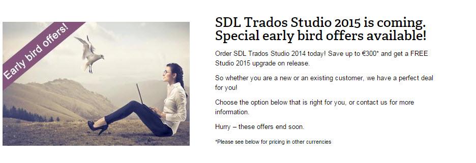 SDL Trados Studio 2015