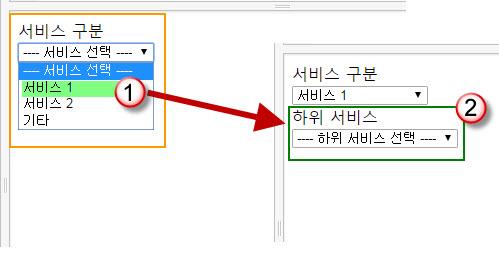 양식에서 특정 값을 선택하는 경우에 다른 필드 표시하는 방법(jQuery, Javascript)