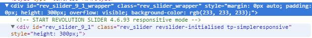Revolution Slider ID