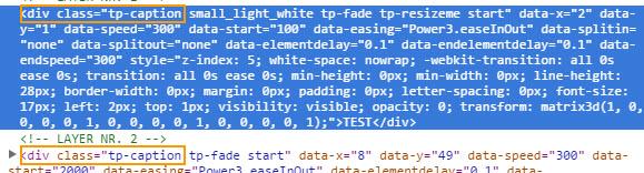 워드프레스 레볼루션 슬라이더에서 폰트 변경하기
