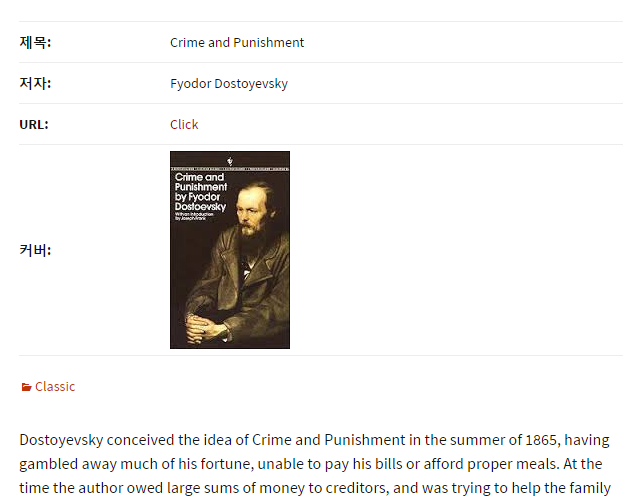 Book Review  -  Crime and Punishment  -  WordPress