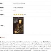 Book Review using Custom Post Type in WordPress