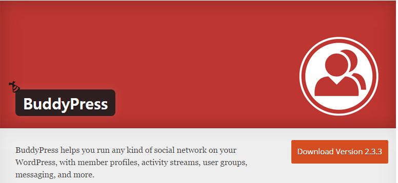 BuddyPress Plugin Page