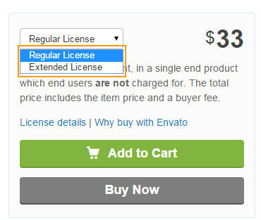 Codecanyon License
