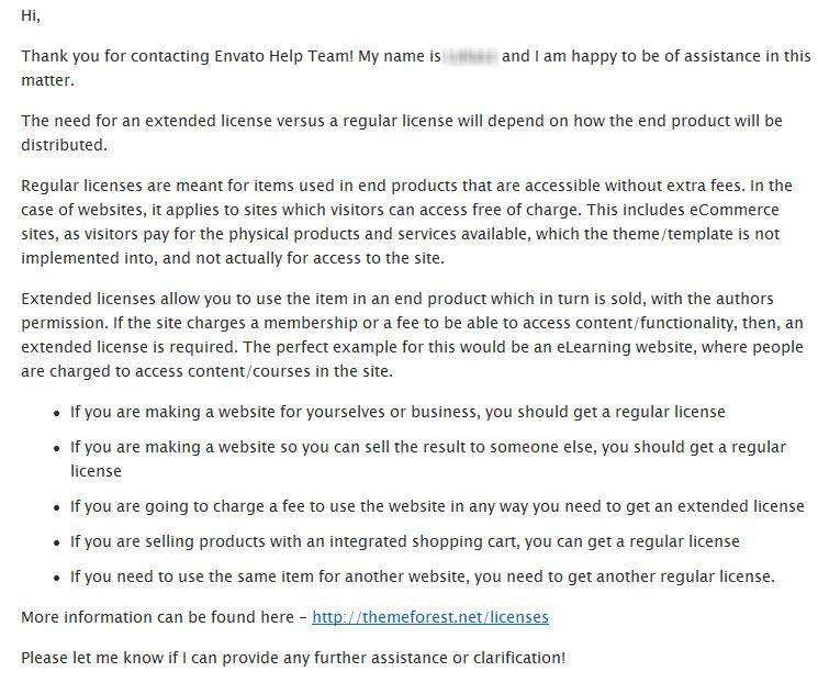 Envato-Licenses