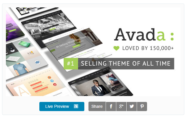 WordPress Avada Theme