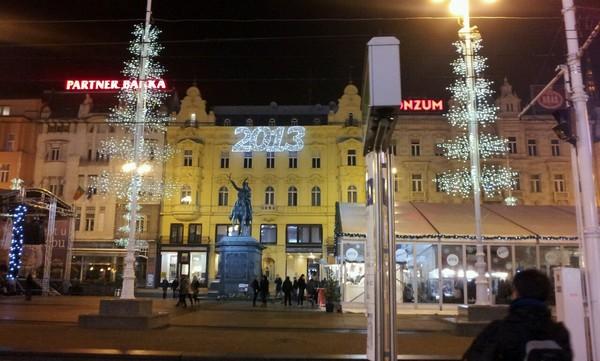 Croatia_Jelacic Square - 크로아티아 옐라치치 광장
