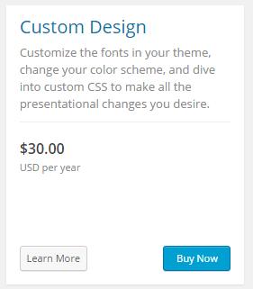 Custom Design - 워드프레스 커스텀 디자인