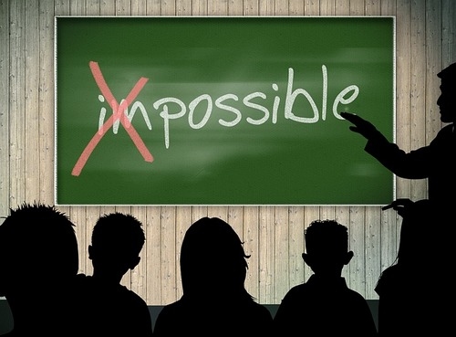 [번역] Nothing is impossible과 Impossible is nothing