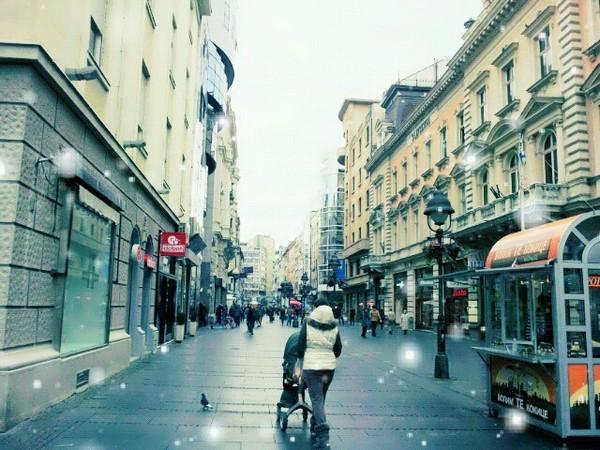 Serbia downtown - 세르비아