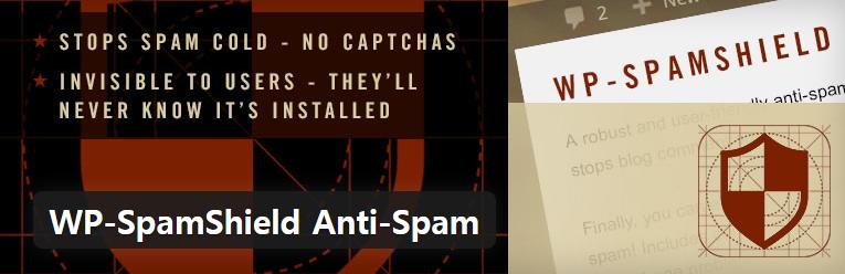 워드프레스 스팸을 효과적으로 차단하는WP-SpamShield Anti-Spam 스팸 방지 플러그인