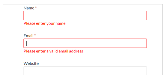 WordPress Comments validation - 워드프레스 댓글 유효성 검사 플러그인