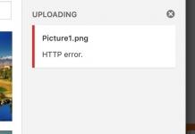 워드프레스 HTTP 오류