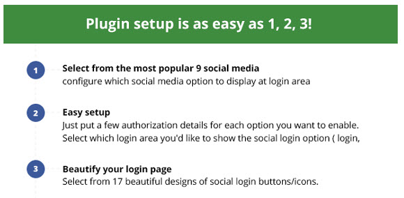 Social Login - Easy Setup