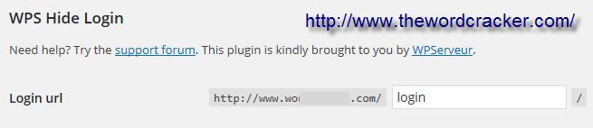 WPS Hide Login - 워드프레스 로그인 페이지 숨기기