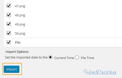Add From Server - 워드프레스에서 미디어 파일 대량 업로드하기