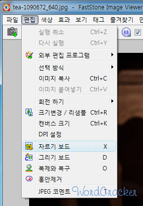 FastStone Edit Screen