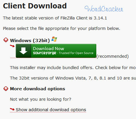 FileZilla Client Download