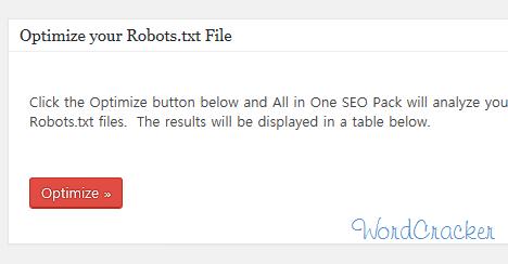 Optimize your Robots file  -  Robots.txtファイル最適化する