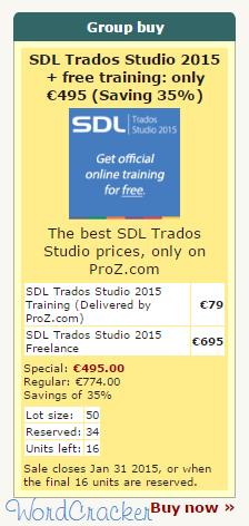 Trados Group Buy
