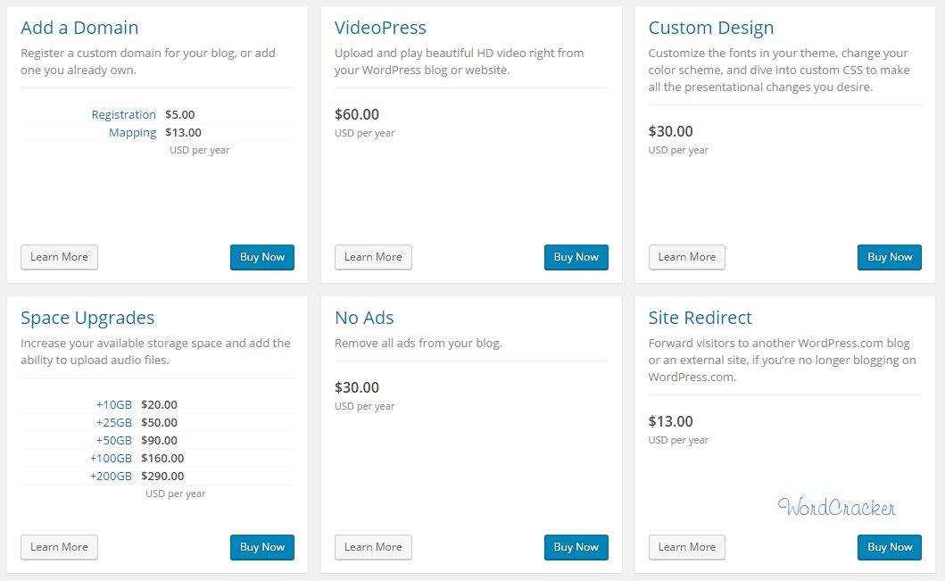 WordPress BOX