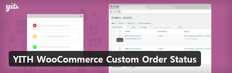 YITH WooCommerce Custom Order Status 우커머스 커스텀 주문 상태 플러그인