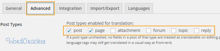 q Translate X - Advanced