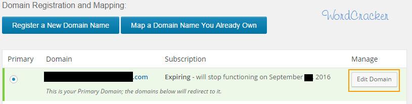 Domain Registration and Mapping  - ワードプレスのドメイン登録とマッピング