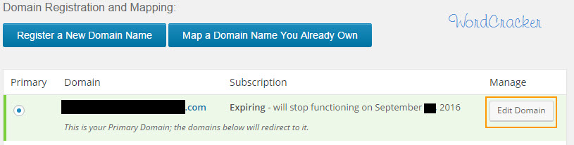 Domain Registration and Mapping - 워드프레스 도메인 등록 및 매핑