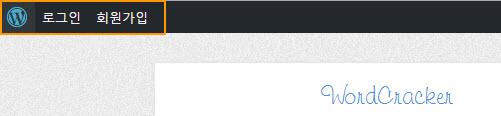 WordPress Toolbar for non login users