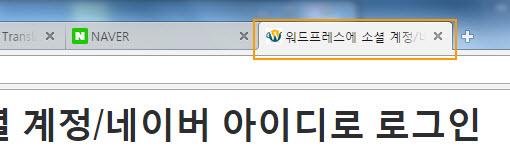 [워드프레스] 브라우저 탭에 표시되는 사이트/페이지 타이틀 변경하기