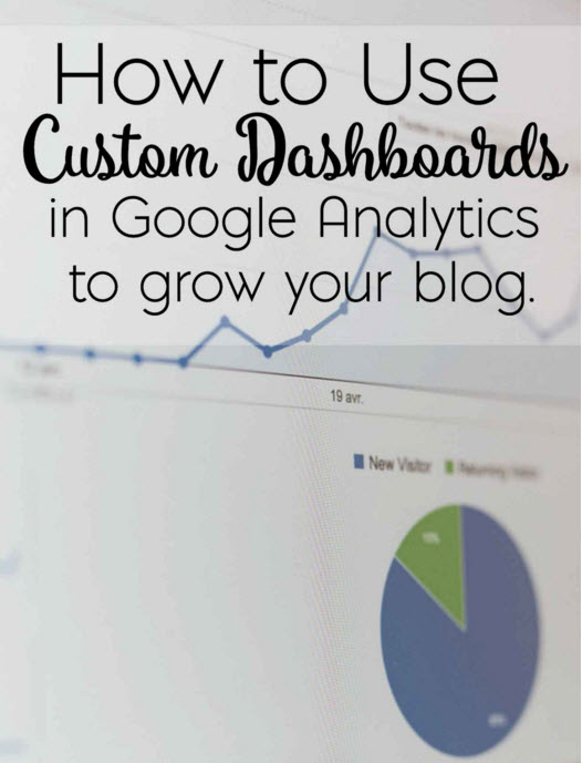 How to Use Custom Dashboards in Google Analytics to grow your blog